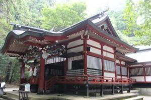 霧島東神社 拝殿