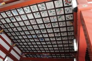 鹿児島神宮 天井絵