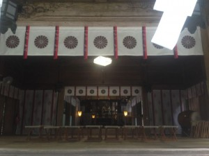 狭野神社 拝殿