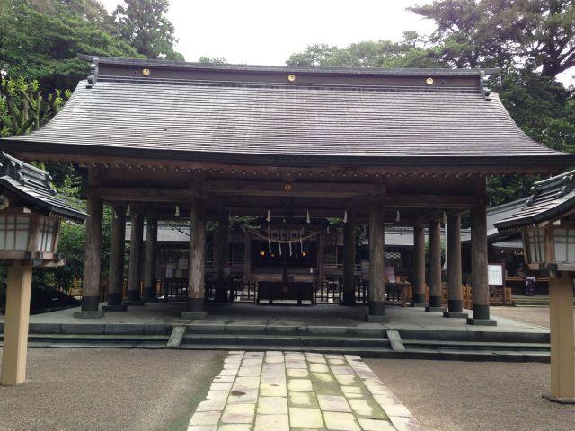 狭野神社 外拝殿