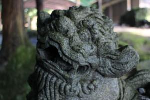 石體神社 狛犬