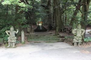 霧島岑神社 参道