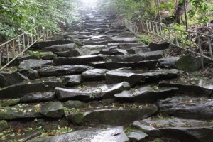 東霧島神社 石段