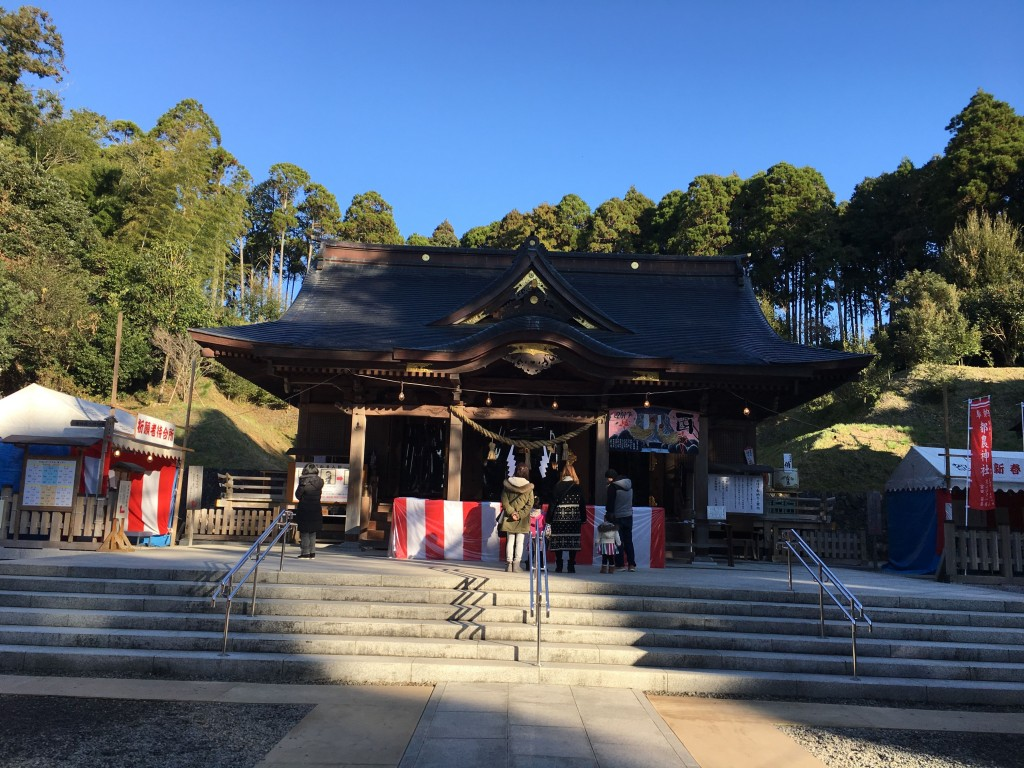 都農神社 拝殿
