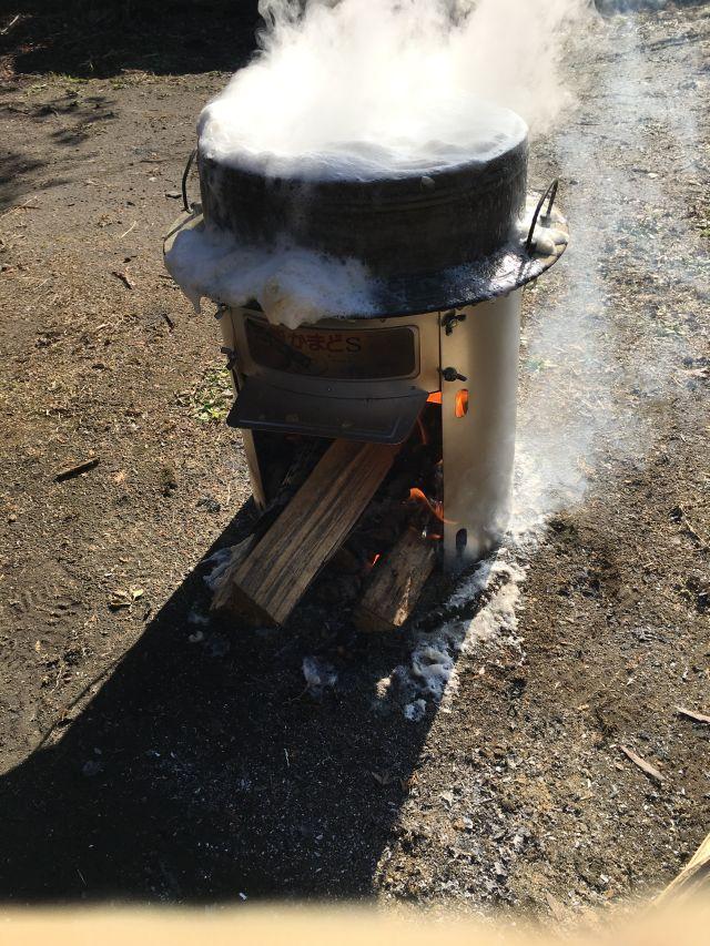 味噌作り 大豆を煮る